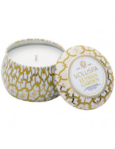 Elysian Garden - Petite Decorative Tin Candle
